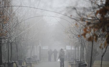 Avertizare de ceata pentru Bucuresti si zece judete
