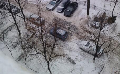 zapada parcare