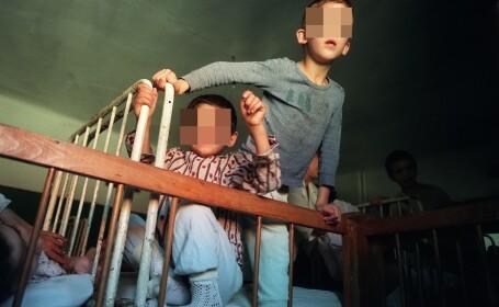 Experiment pe orfanii din Romania. \