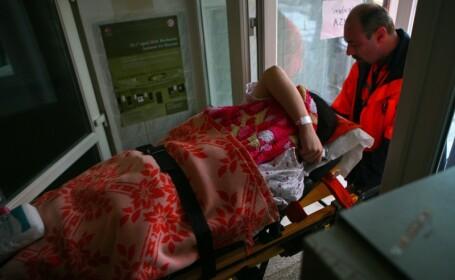 O sectie a Spitalului Judetean din Piatra Neamt, evacuata dupa ce s-a simtit miros de gaz