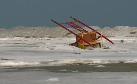 Cea mai cautata plaja din sudul litoralului este distrusa complet. Cum arata Mamaia si Vama Veche