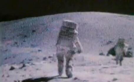 IMAGINI in premiera: Cum s-au distrat astronautii Apollo 17 in ultima misiune pe Luna