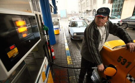 benzina taximetrist