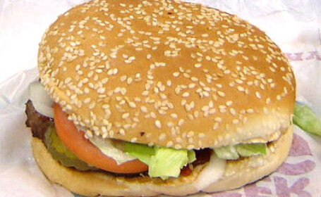 Burger King, hamburger