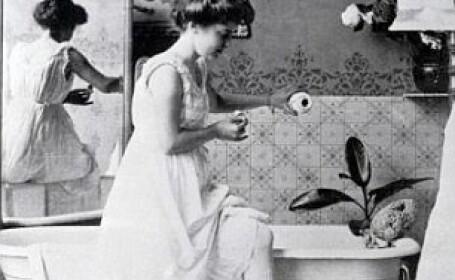 femeie se spala, epoca victoriana