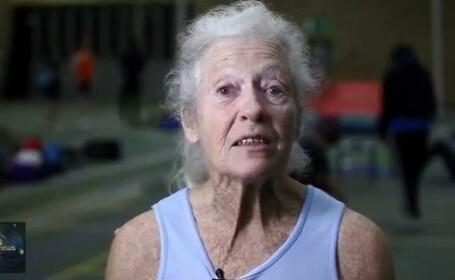 atleta batrana, 77 de ani
