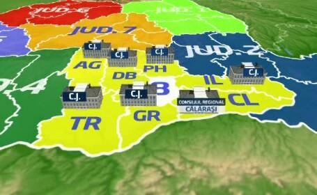 Regionalizarea Romaniei. Liviu Dragnea: Ce-i aia regiunea 3 Sud Muntenia? Sa fie nume proprii