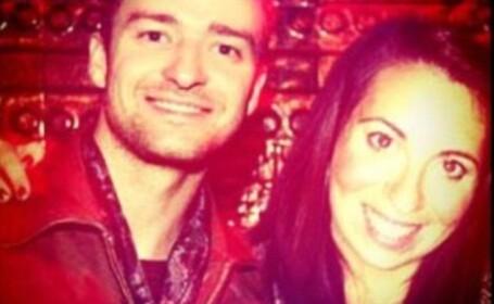Shirley Hornstein cu Justin Timberlake