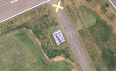 zona de calibrare, Google Earth