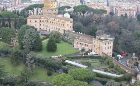 Primele imagini cu viitoarea resedinta a Papei Benedict, dupa ce va demisiona din functie