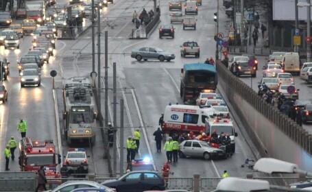 Accident Piata Victoriei