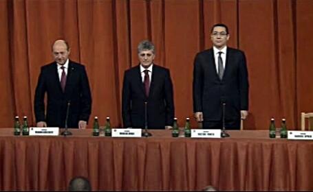 Traian Basescu, Corneliu Dobritoiu, Victor Ponta