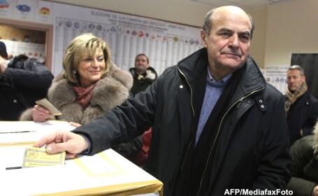 Exit-poll: Coalitia de centru-stanga este pe primul loc dupa scrutinul legislativ din Italia