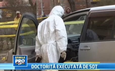 Raportul medicilor legisti: Doctorita omorata de fostul sot a fost impuscata in umeri si in torace