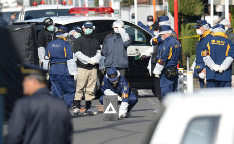 Tanara injunghiata mortal la Tokyo. Politistii au retinut un roman in varsta de 17 ani