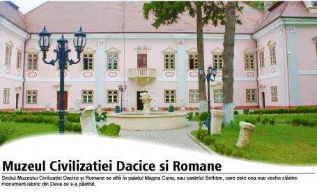 Muzeul Civilizatiei Dacice si Romane