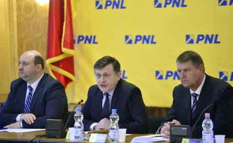 Cine sunt nominalizatii PNL pentru guvern. Portretele lui Iohannis, Atanasiu, Nicolaescu si Busoi