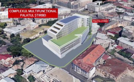 Mall-ul care pune in pericol o cladire simbol a Capitalei a primit unda verde. Harta complexului de langa Palatul Stirbey