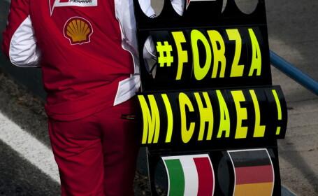 Michael Schumacher, ajutat de familie sa iasa din coma. Sotia si copiii ii vorbesc in continuu pe patul de spital