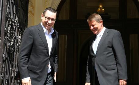 Klaus Iohannis se declara pregatit sa lucreze cu premierul Ponta daca ajunge presedinte: \