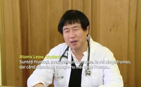 Povestea barbatului de 65 de ani din Singapore care studiaza medicina in Iasi. \