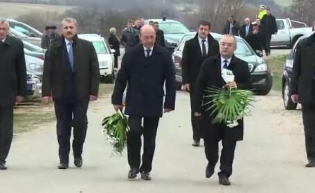 Basescu despre Blaga: 21 de ani cat am lucrat impreuna nu se sterg din cauza opiniilor politice