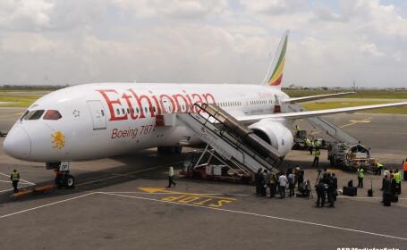 Avionul companiei Ethiopian Airlines, deturnat luni de copilot, avea si pasageri romani la bord