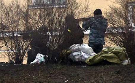 Imagini din timpul protestelor din Kiev, din 20 februarie 2014 - 1