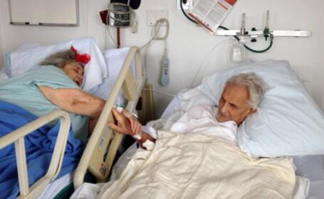 Doi americani, casatoriti de 60 de ani, s-au tinut de mana pe patul de spital si au murit la doar cateva zeci de ore distanta
