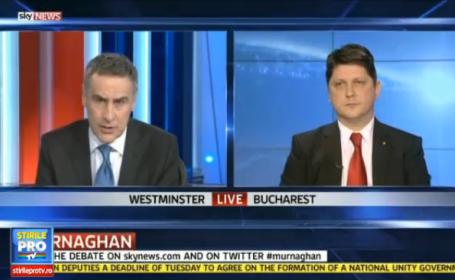 Titus Colatean, la Sky News