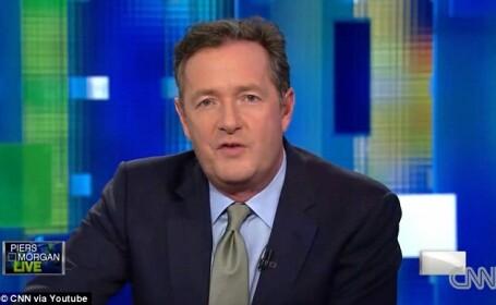 Talk Show-ul lui Piers Morgan, inlocuitorul lui Larry King, a fost anulat de CNN din cauza audientelor mici