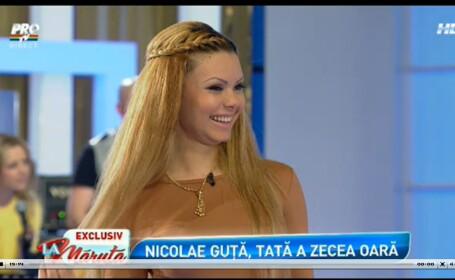 Nicolae Guta va fi tata pentru a zecea oara. Madalina, iubita manelistului de doar 21 de ani, gravida in luna a treia
