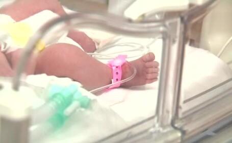Un medic a salvat un bebelus \