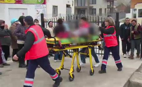 Tanara de 26 de ani, izbita in plin de o masina. Femeia isi ducea copilul la gradinita si a traversat printr-un loc nepermis