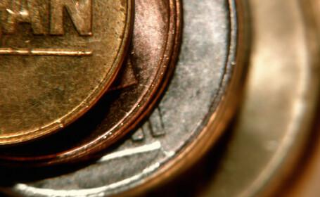 lei monede romanesti maruntis bani