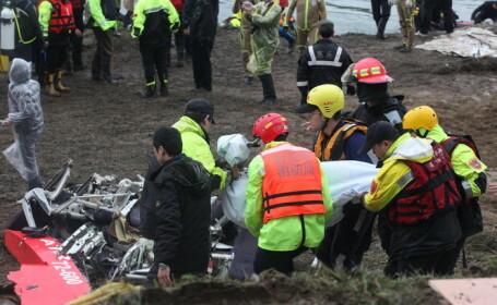 Accidentul aviatic din Taiwan: Bilantul mortilor a ajuns la 38, in timp ce 5 persoane sunt inca disparute