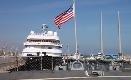 Celebrul distrugator american USS Cole a ajuns in portul Constanta. Ce va face nava militara in Romania