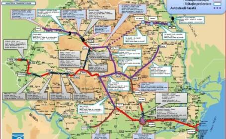 Ministerul Transporturilor mai propune 645 de kilometri de autostrada pe hartie. Varianta \