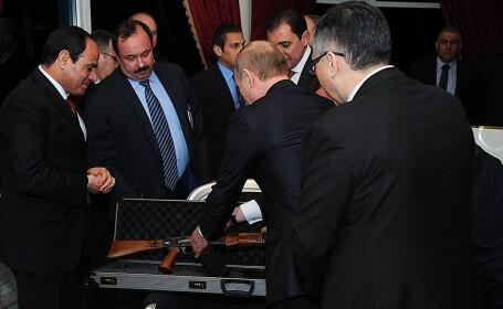 Vladimir Putin, Egipt