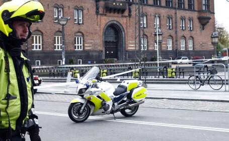 Atac armat la Copenhaga, in timpul unei dezbateri despre libertatea de expresie. O persoana a fost ucisa, 3 politisti raniti