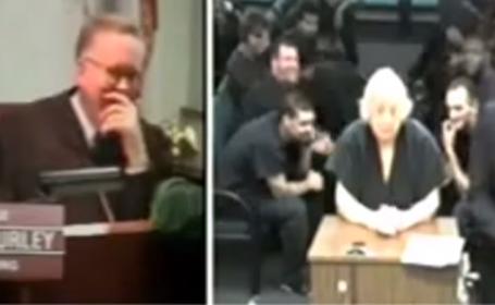O batranica de 80 de ani l-a facut pe un judecator din Florida sa rada cu lacrimi. Ce i-a spus in timpul audierii: VIDEO