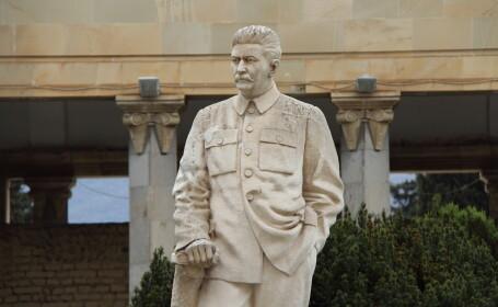 statuie a lui Stalin din Georgia