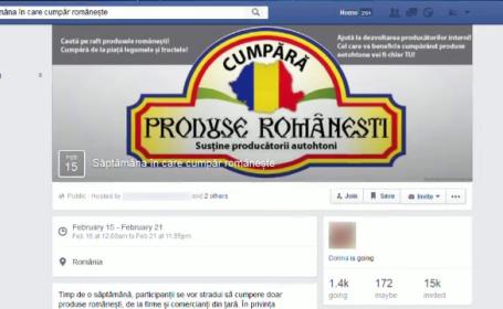Campanie pe Facebook pentru cumpararea produselor romanesti. Initiativa prin care toata lumea are de castigat