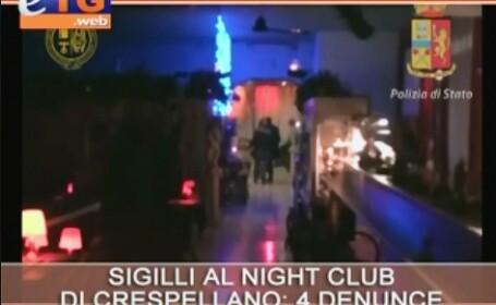 Mai multe romance, prinse in timp ce se prostituau intr-un club din Bologna. Cat primeau fetele pentru o noapte