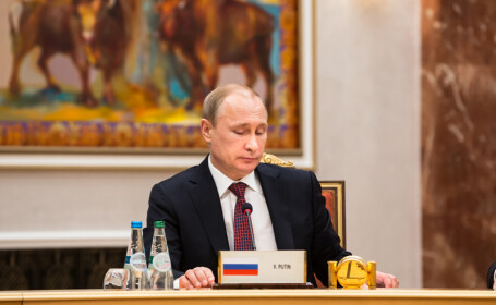 Vladimir Putin la Minsk