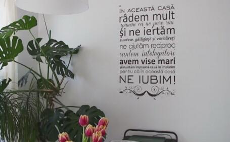 Ce au ajuns romanii sa-si puna pe pereti in casa, din dorinta de a fi optimisti si ambitiosi. Explicatia sociologilor
