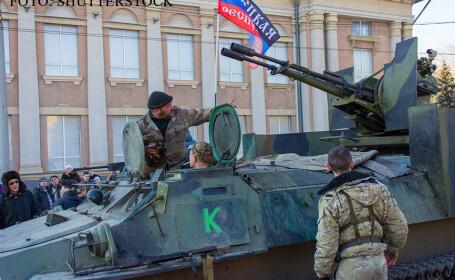 separatisti din Donetk