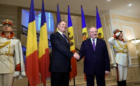 Klaus Iohannis si Nicolae Timofti