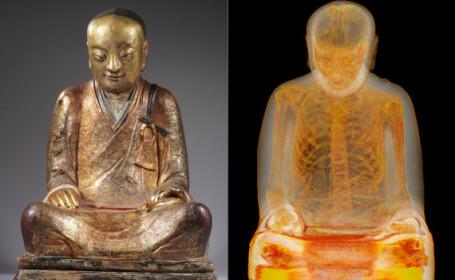 Nimeni nu a stiut ce ascunde aceasta statuie. Descoperirea facuta dupa 1.000 de ani, la o radiografie. FOTO