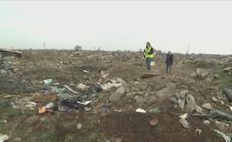 Craniu uman descoperit printre gunoaie, pe un camp de langa Arad. Ce au declarat autoritatile